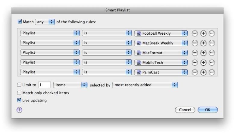 Smart Playlist 2